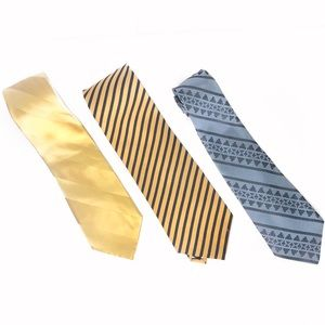 Bundle of 3 Men's ties